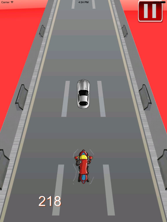 A Super Crazy And Monstrous Bike - Extreme Motorcycle Game screenshot 8