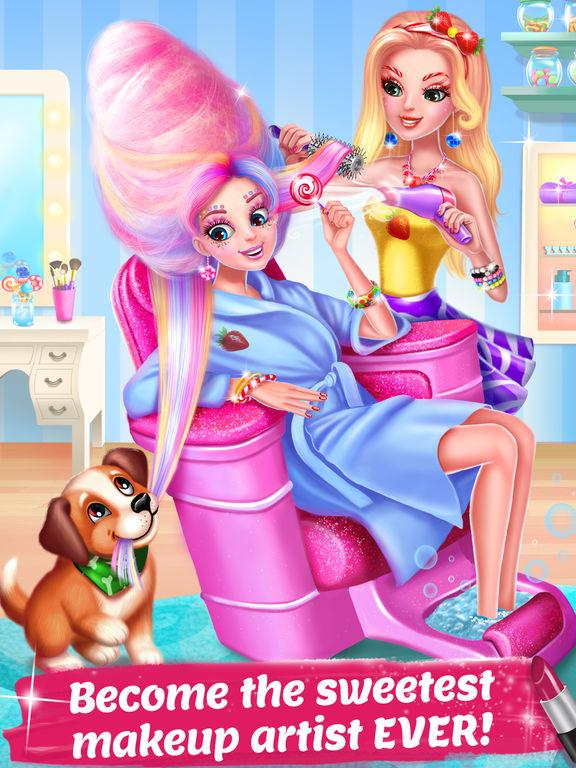 Candy Makeup Beauty Game screenshot 6