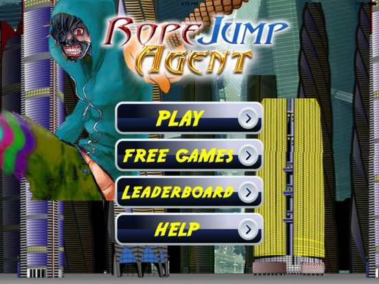 Rope Jump Agent - Bouncing Swing Amazing screenshot 6