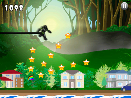 Cyber Ninja Jump Pro - Race of Mobile Androids screenshot 8