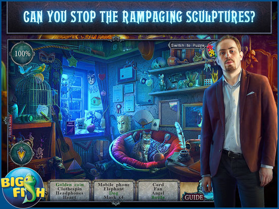 Fear for Sale: City of the Past HD - A Hidden Object Mystery screenshot 2