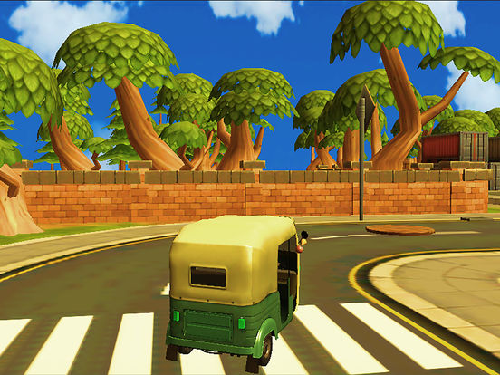 City Tuk Tuk Rickshaw : free simulation game screenshot 7