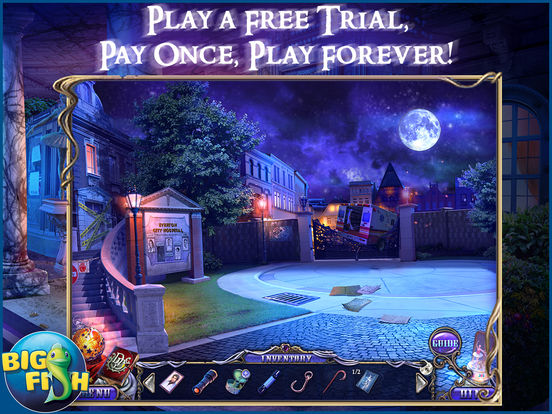 Dark Dimensions: Shadow Pirouette HD - A Scary Hidden Object Game screenshot 1
