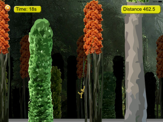 Amazon Gorilla Warrior In Rope - Amazing Jump and Fly Game screenshot 10