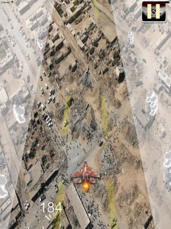 A Driving Fast Of F 22 Pro - Amazing Air War Game screenshot 9