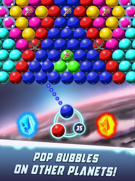 Bubble Shooter Galaxy Explore screenshot 9