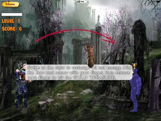 Bow of Shooting Swipe Deluxe Pro - Target Shooting Game screenshot 7