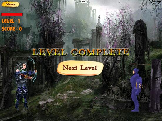 Bow of Shooting Swipe Deluxe - Target Shooting Game screenshot 8