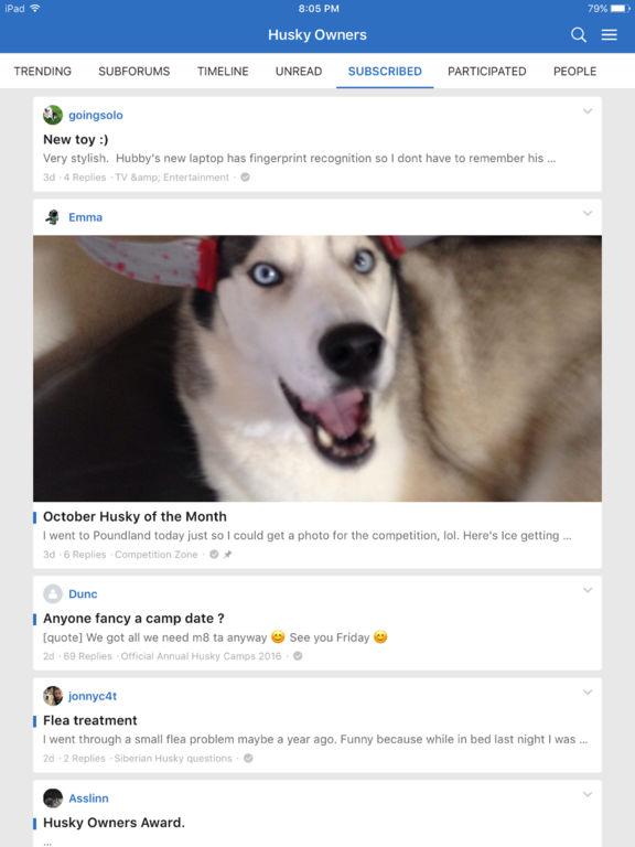 Husky Owners screenshot 6