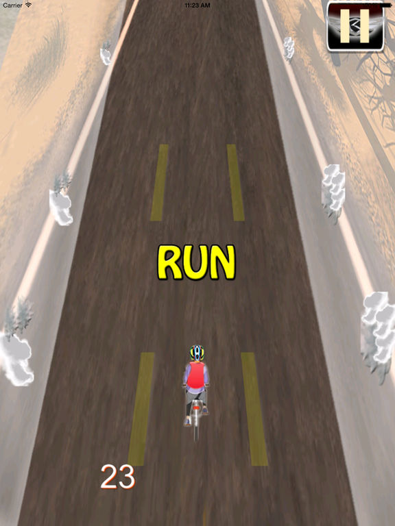 A Road Cycling Runner - A Xtreme Adrenaline screenshot 9