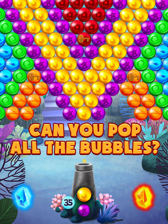 Bubble Atlantis Deluxe screenshot 10