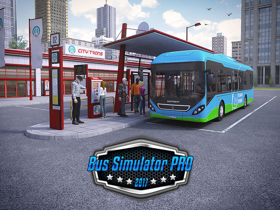 Bus Simulator PRO 2017 screenshot #1