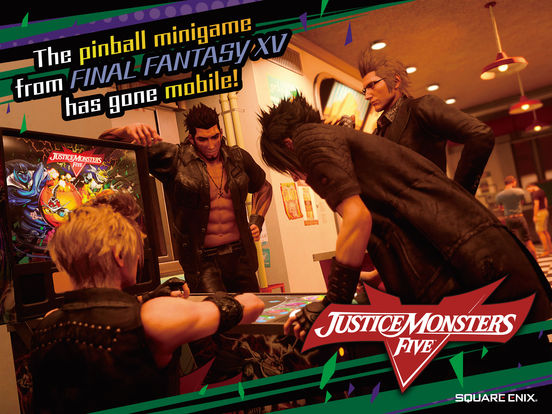 JUSTICE MONSTERS FIVE screenshot 5