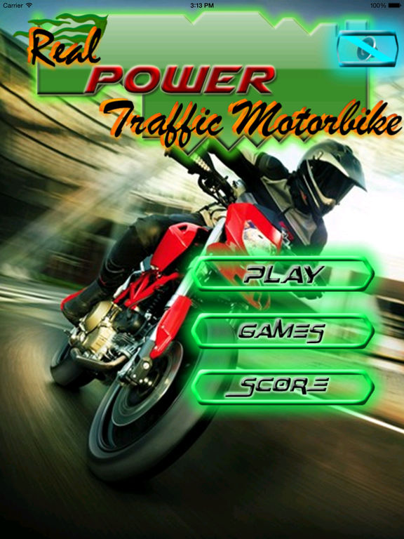 Real Power Traffic Motorbike screenshot 6