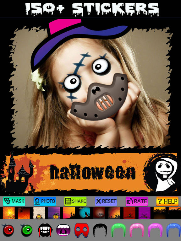 Halloween Cards and Photo Frames screenshot 9