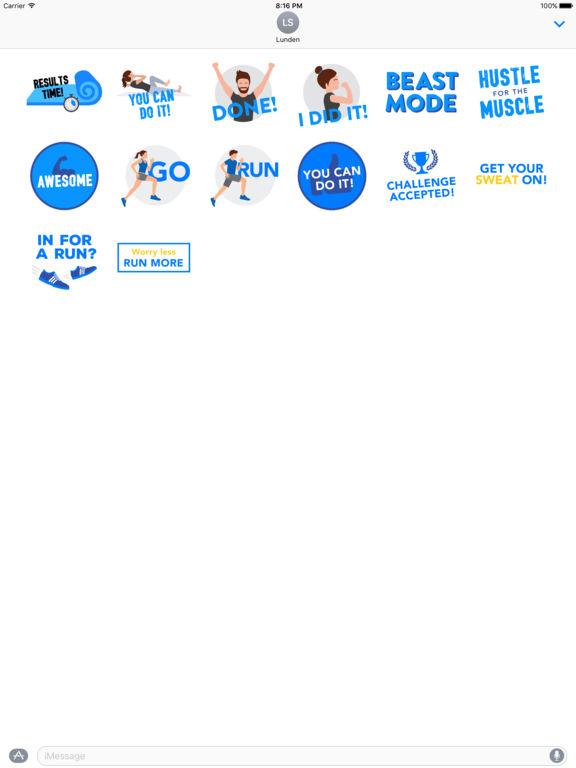 Runtastic Stickers - Inspire & Motivate screenshot 3