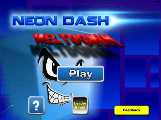 A Neon Dash Meltdown Pro -Jumping The Amazing screenshot 6