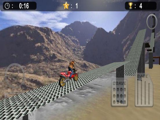 Extreme Bike Stunt : 3D Crazy Ride-r Free screenshot 5