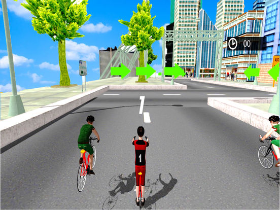 3D Cycle Simulator : New City Bicycle Racing Game screenshot 6