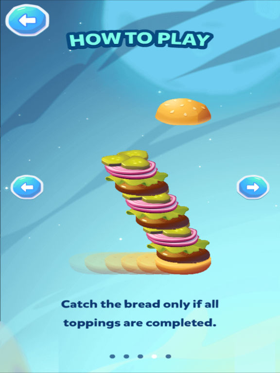 Stack the Burger [food raining edition] screenshot 7