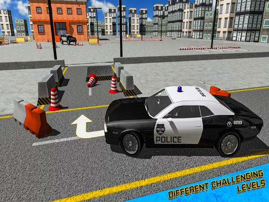 Epic Police High-way Car : Real Stunt Par-king 3D screenshot 4