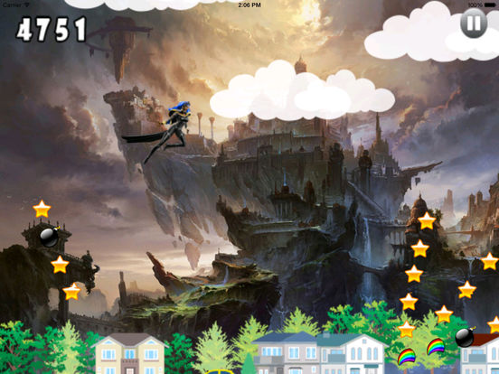 A Mega Jump Girl Pro - Insanely addictive Game screenshot 8