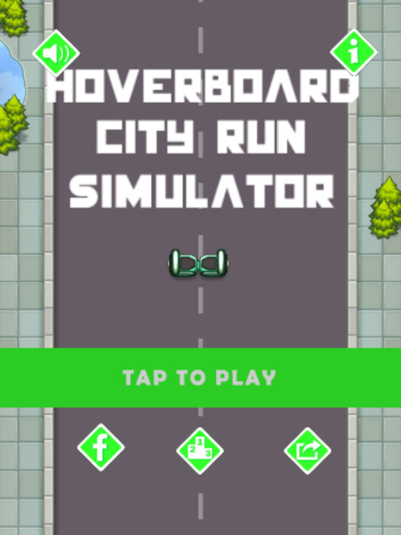 Hoverboard Hill Climb Simulator -Hover Board Games screenshot 3