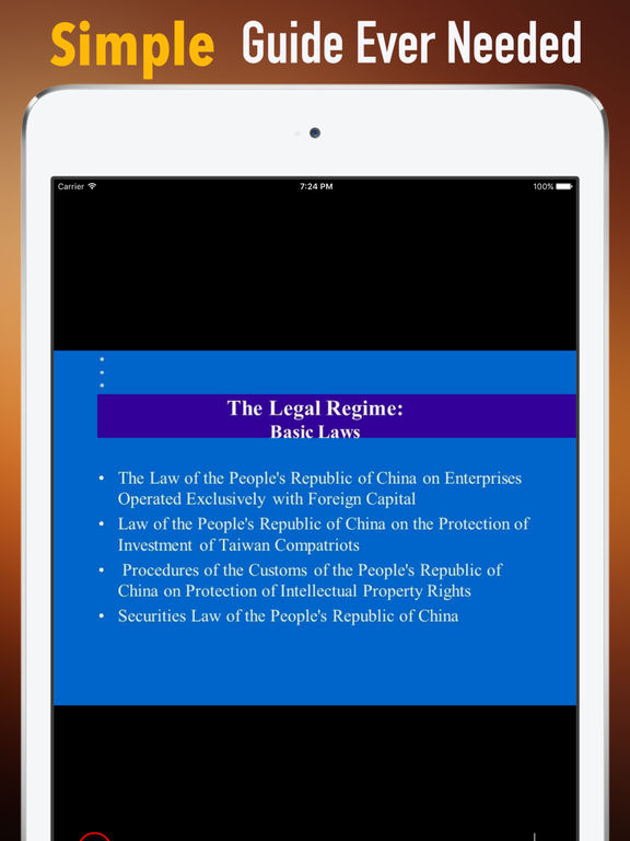 Basic China Law:Tips and Guide screenshot 7