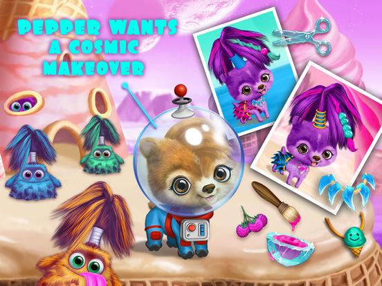 Space Animal Hair Salon – Cosmic Pets Makeover screenshot 10