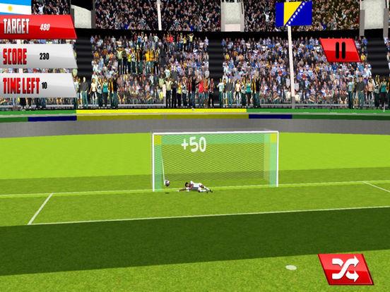 Real Football Penalty Flick : Hero-es Kicks Shots screenshot 6