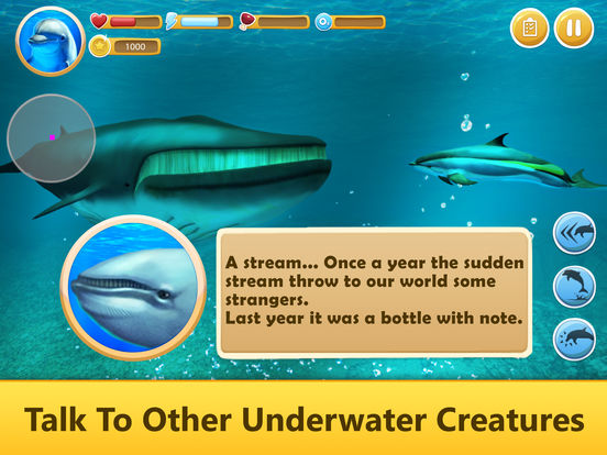 Ocean Dolphin Simulator: Animal Quest 3D screenshot 6