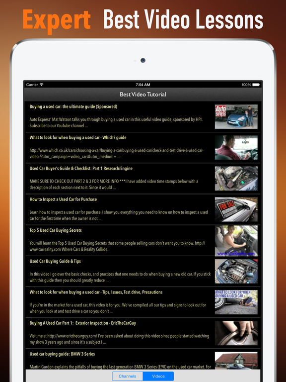 Used Cars:Traffic and Buying Guide screenshot 8