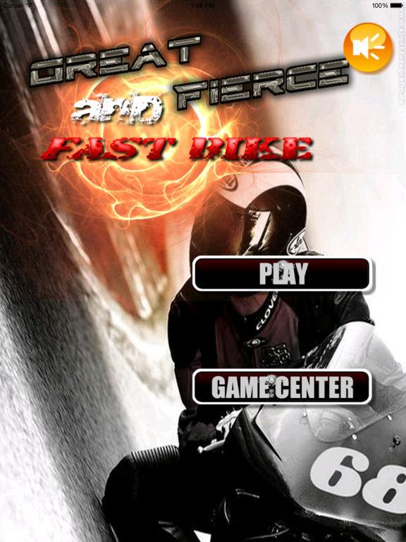 A Great Fierce And Fast Bike - Fierce Cool Motorcycle Game screenshot 6