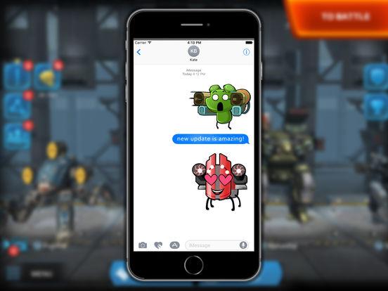 War Robots Stickers screenshot 6