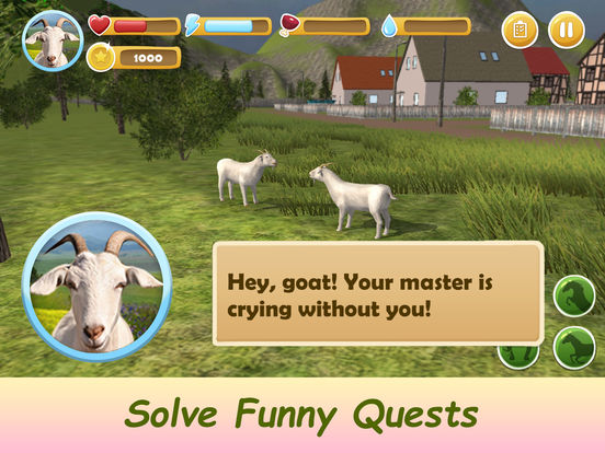 Farm Goat Simulator: Animal Quest 3D Full screenshot 8