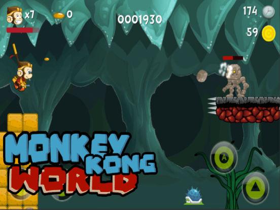 Monkey Kong world - The legend screenshot 5