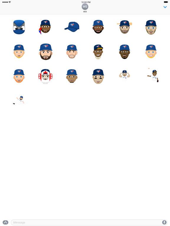 Toronto Blue Jays 2016 MLB Sticker Pack screenshot 3