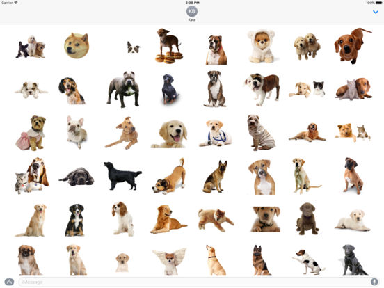 AWW Dog Stickers for iMessage screenshot 4
