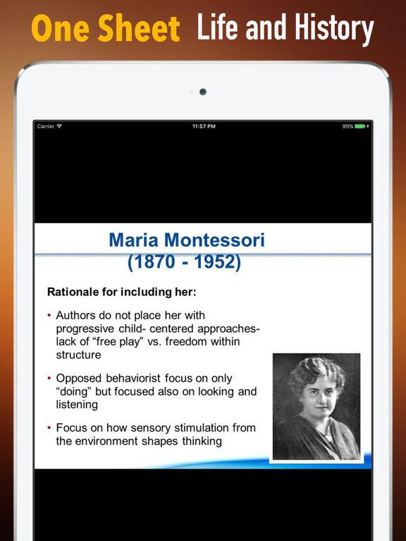 Biography and Quotes for Maria Montessori screenshot 7