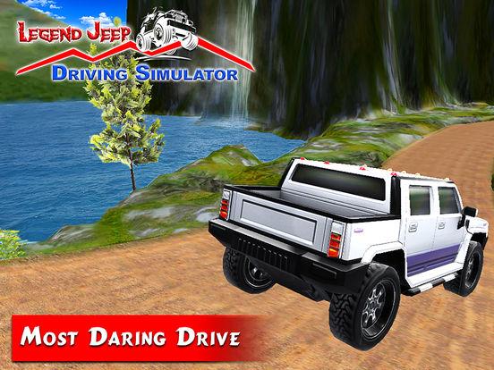 Legend Jeep Driving Simulator screenshot 8