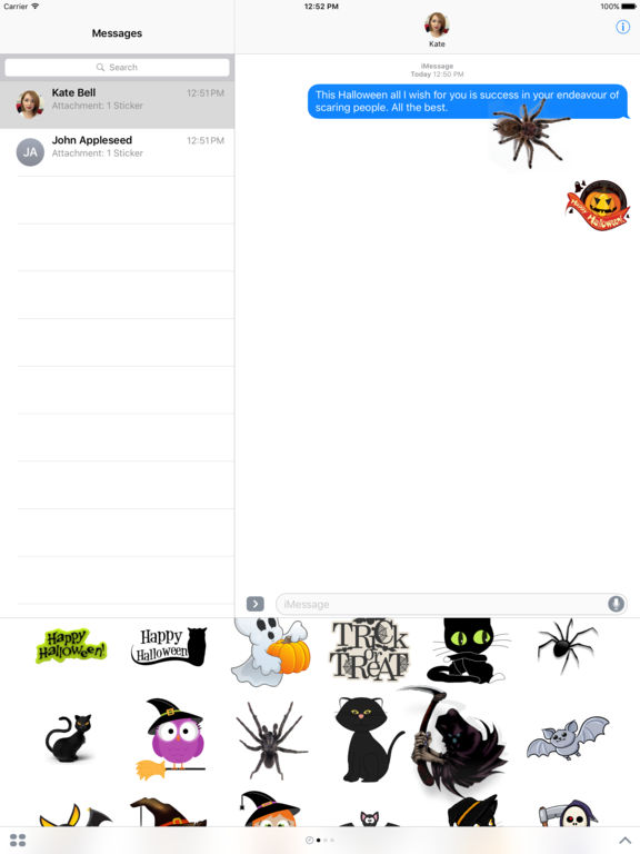Halloween 2k16 - Stickers & Fun - Trick or Treat screenshot 4
