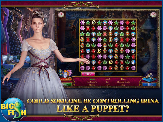 Danse Macabre: Lethal Letters - A Mystery Hidden Object Game screenshot 7