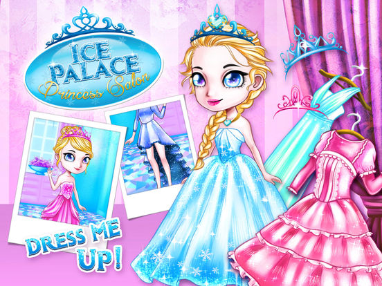 Ice Palace Princess Salon - No Ads screenshot 8