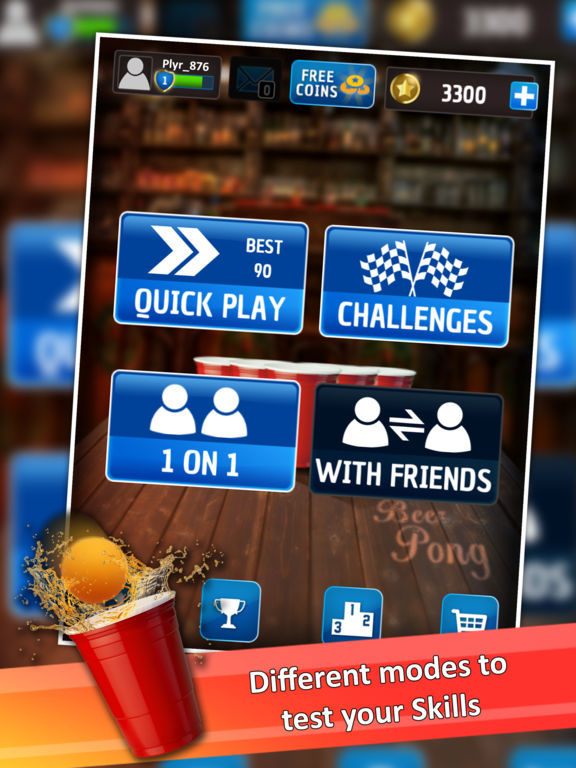 Beer Pong : Trickshot screenshot 7