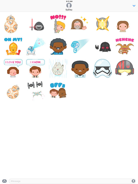 Star Wars Stickers screenshot 5