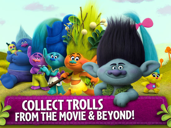 Trolls: Crazy Party Forest! screenshot 10