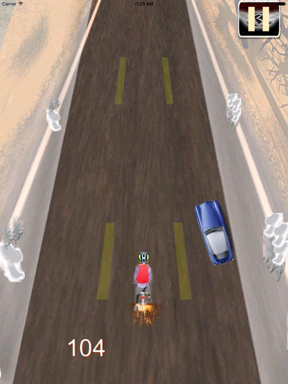 A Road Cycling Runner - A Xtreme Adrenaline screenshot 8