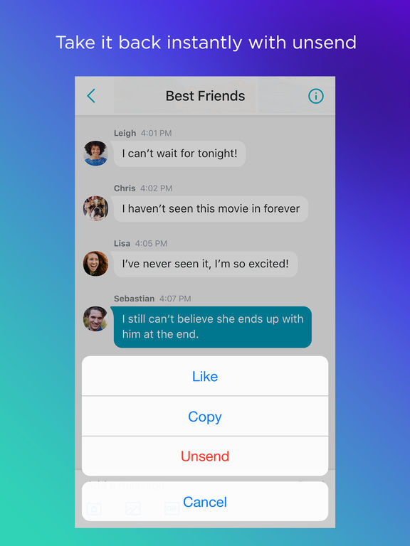 Yahoo Messenger - Chat and share instantly screenshot 6