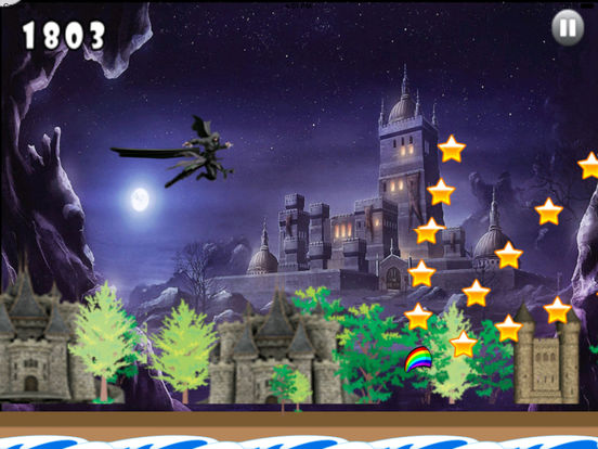 A Dark Wizard Jump - Magic With Air Race screenshot 9