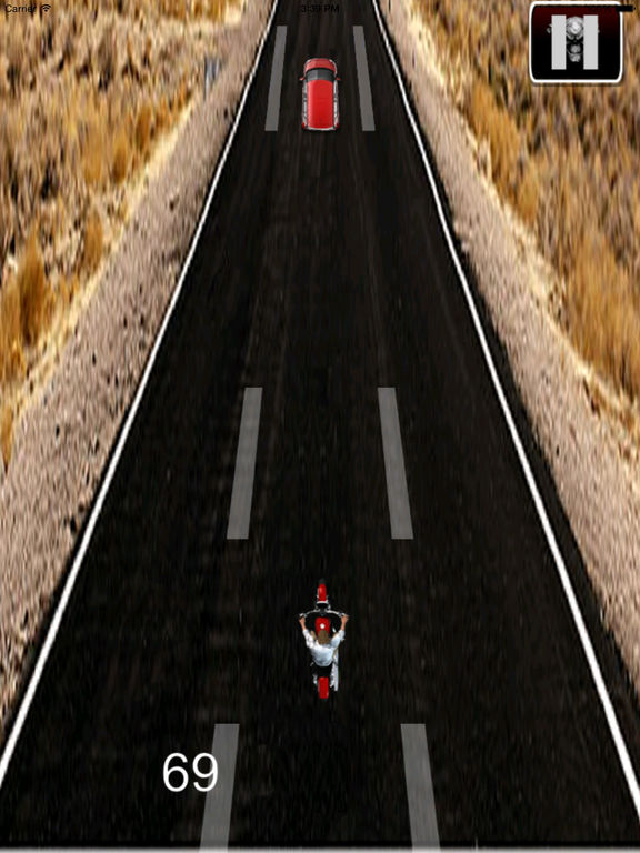 Recharged Motorcycle Fury - Incredible Racing Track screenshot 7